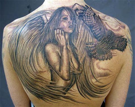tattoo back angel wing tattoo big angel back tattoo