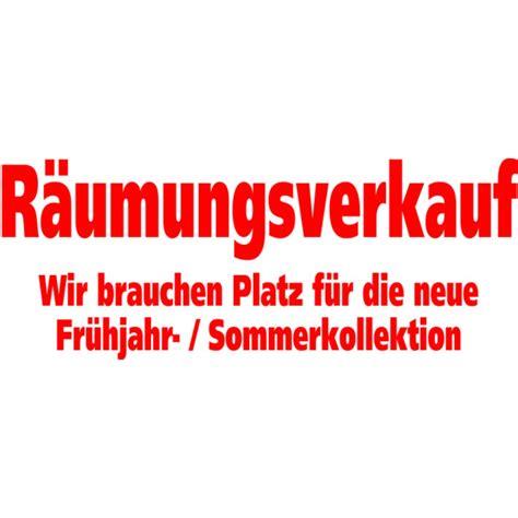 Folienbeschriftung F R Schaufenster by Folienbeschriftung Quot R 228 Umungsverkauf Wir Brauchen Platz