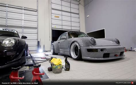porsche nardo grey latest rwb sema build painted audi s own nardo grey paint