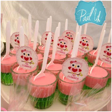 todo para tu fiesta de baby shower gelatinas de embarazada y baby paal uh mesa de postres snacks dulces gelatina rosa