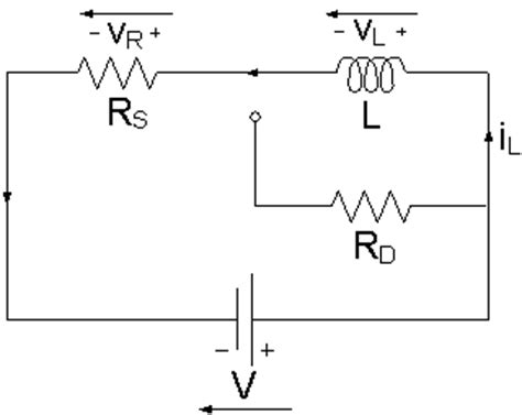 inductor open circuit in dc inductor in a dc circuit