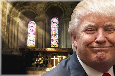 Donald Trump Church | donald trump s incoherent megalomaniacal religion why