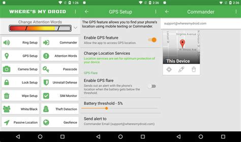 where s my phone android find your lost phones with where s my droid android apps