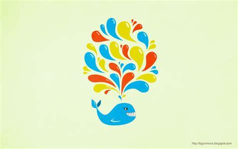 wallpaper cartoon wale colorful swirls happy cartoon whale