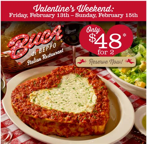 48 s dinner for two at buca di beppo