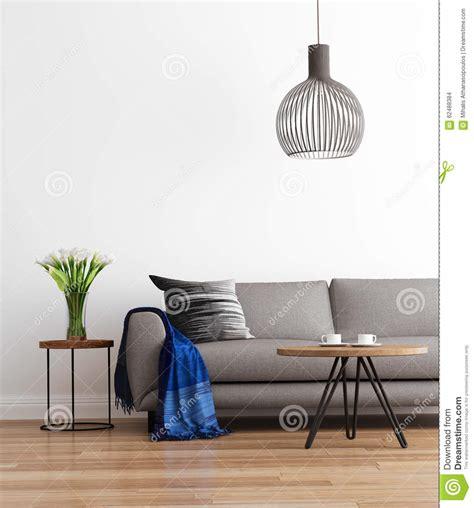 contemporary living room sofas contemporary modern living room with grey sofa stock photo