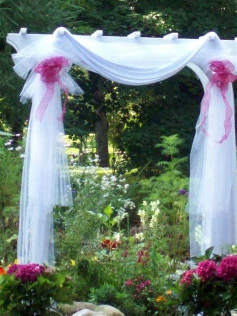 wedding arbor fabric pretty wedding arches possibilities