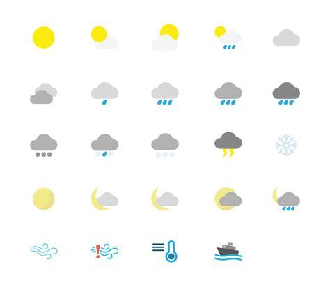 icon design com weather icons elliott white