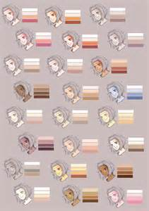 skin color palette skin colour palette by rueme d337ggs jpg 1 082 215 1 536