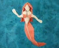 Origami Mermaid - mermaid quentin trollip gilad s origami page