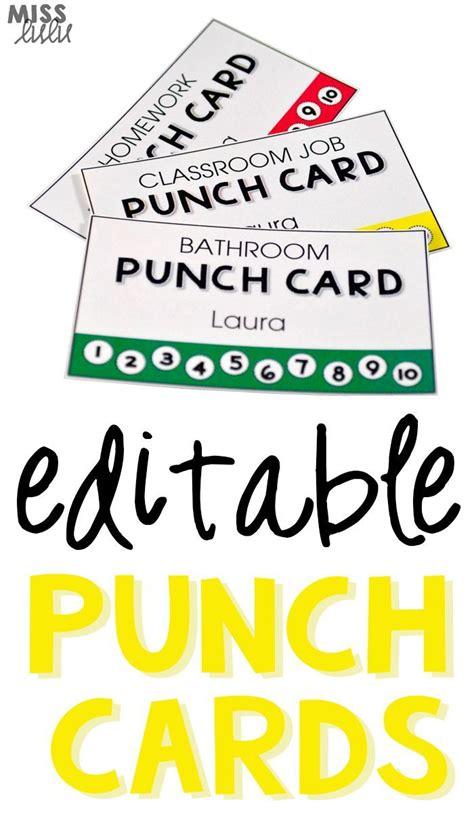 bathroom pass punch card editable punch pass cards bathroom pass classroom jobs
