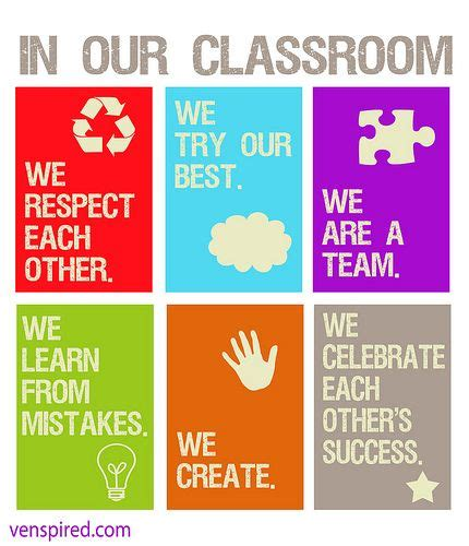 printable classroom poster venspireourclassroom free printable motivational and free