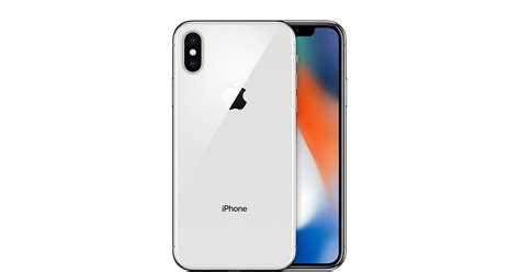 t iphone x iphone x 256gb silver gsm at t apple