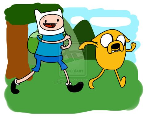 jake the and finn the human jake the and finn the human by poul the fox on deviantart