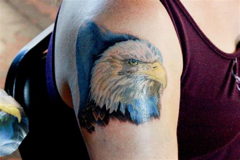 Tattoo Eagle Color | color eagle tattoo by linolucero1 on deviantart