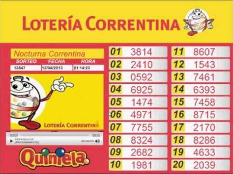 Sorteo Quiniela Correntina Nocturna Del 13 04 201 | sorteo quiniela correntina nocturna del 13 04 201 youtube