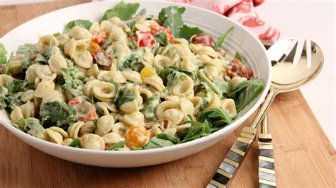 pasta salad dressing recipe pasta salad with avocado ranch dressing recipe