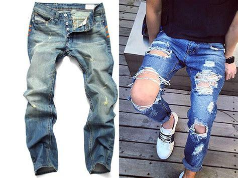como hacer pantalon de hombre m 225 s de 25 ideas incre 237 bles sobre pantalones rotos para