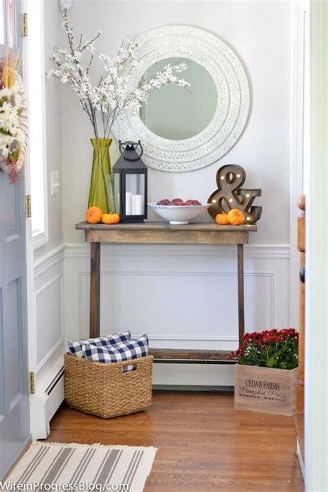 autumn foyer decorating ideas fall decorating foyers and decorating ideas on pinterest