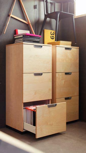 Ikea Arbeitszimmer Galant by Zwei Galant Aktenschr 228 Nke In Birkenfurnier Ikea