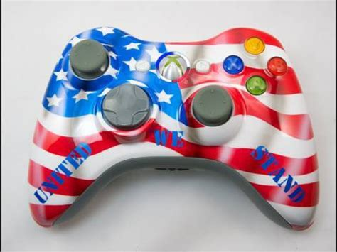 acrylic paint xbox controller how to paint a patriotic xbox 360 controller by