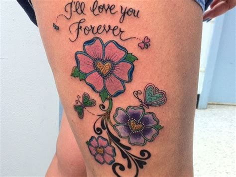 girly tattoo designs on thigh 30 thigh tattoos that are sure to get attention