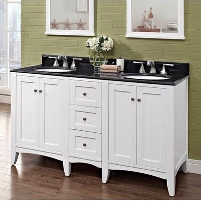 shaker americana 60 quot traditional single sink bathroom