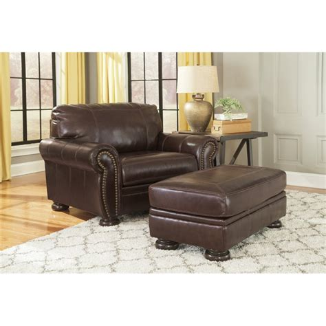 banner coffee sofa reviews ashley banner 2 piece sofa set in coffee 50404 23 14 pkg