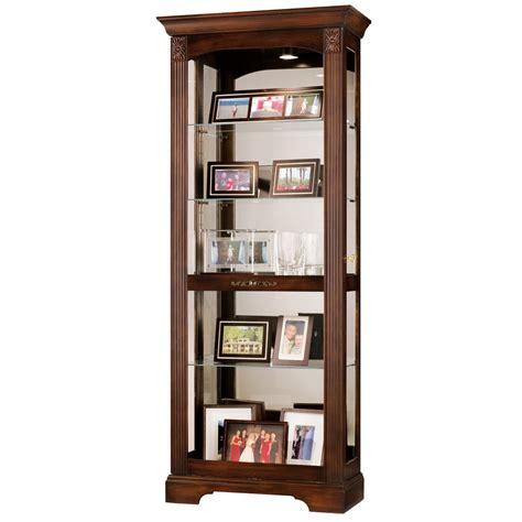 howard miller curio cabinet howard miller ricardo curio display cabinet 680420