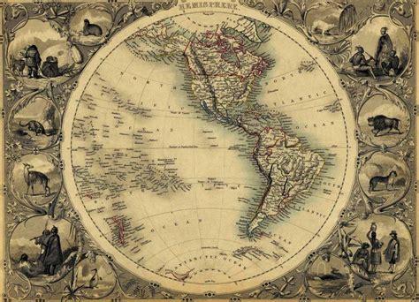 imagenes vintage mapas mapa antiguo de las am 201 ricas im 193 genes cartogr 193 ficas