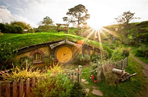 cute lord of the rings hobbit houses in new zealand 10 of most beautiful man made marvels globe traveling