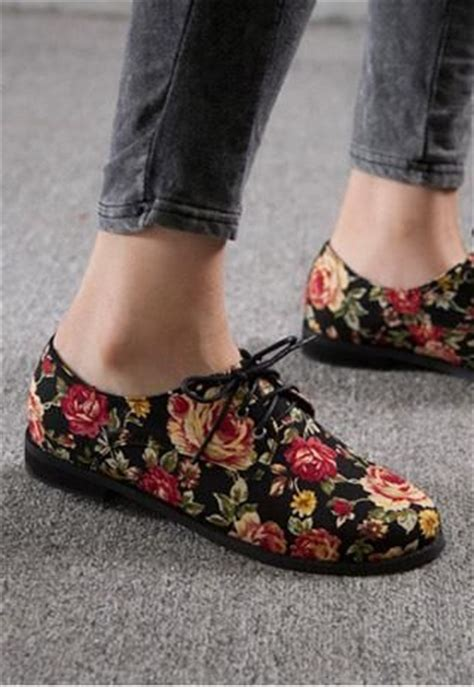 flower oxford shoes floral oxford shoes pictures photos and images for