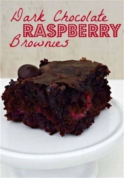 dark chocolate raspberry brownies dark chocolate raspberry brownies the it mom