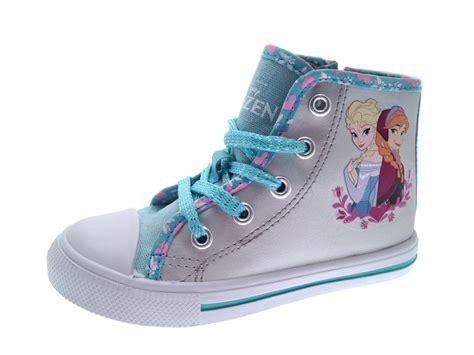 Flat Shoes Character Frozen disney frozen lace up hi tops boots pumps