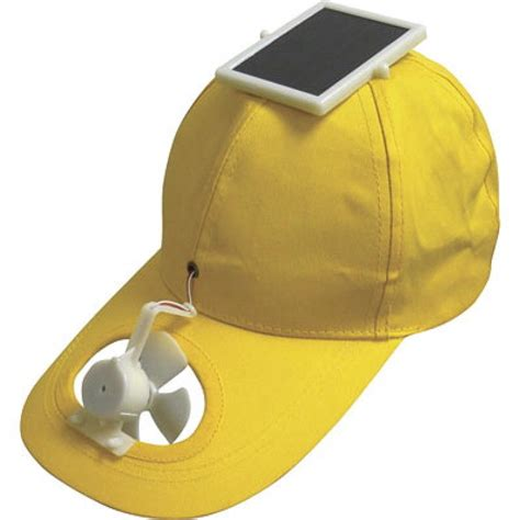 hats with fans on them solar hat photos world s stupidest inventions ny