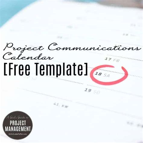 comms plan template project communication plan template free