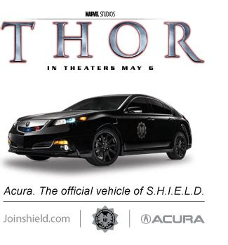 thor movie vehicle dch acura of temecula news and views acura teams up with