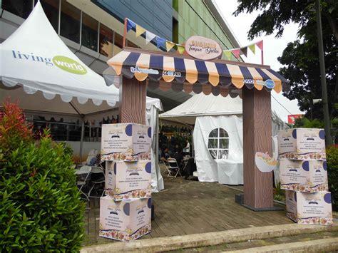 festival makanan tradisional  living plaza hijaubintaro