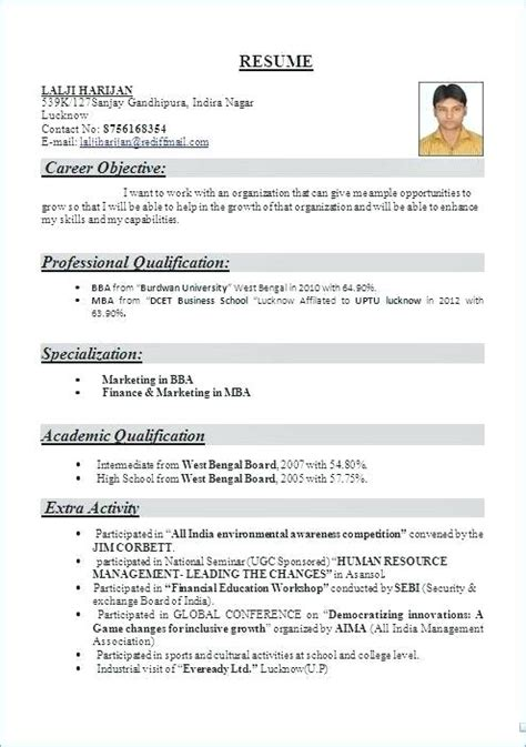 resume format for cabin crew resume sles for freshers great resume for cabin crew