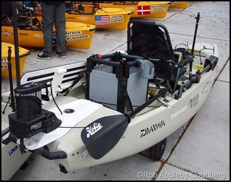 saltwater fishing boat accessories www pinterest 1895gunner saltwater kayak fisherman