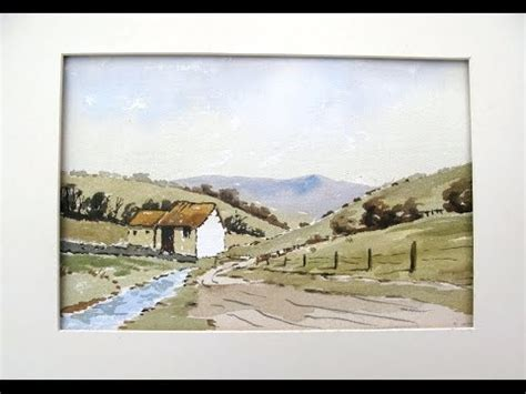 watercolor tutorial alan owen a day in the dales with alan owen youtube