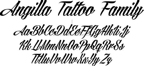 popular tattoo fonts letter fonts tattoos 4 best tattoos pertaining to