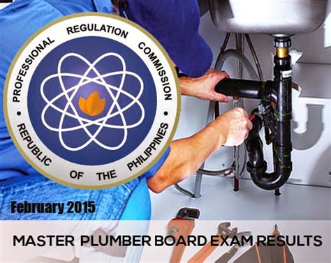 Master Plumbing Test by List Of Passers February 2015 Master Plumber Board