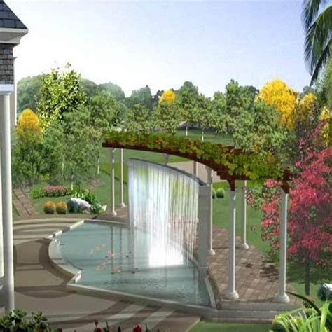 water curtains water curtains in phase viii b mohali garden engineers