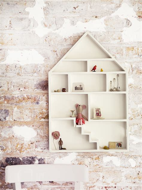 Dolls House Shelf children s room decor keeping the in function dekko
