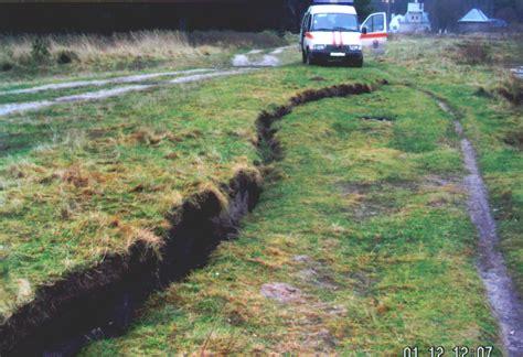 earthquake fault surface deformation kaliningrad earthquake