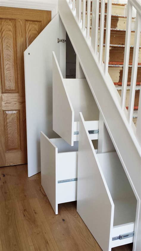 under stair shelving under stairs storage in london surrey