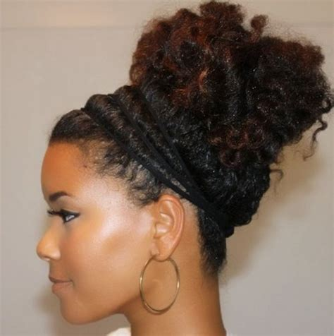 ponytail styles for natural hair black natural hairstyles 20 cute natural hairstyles for
