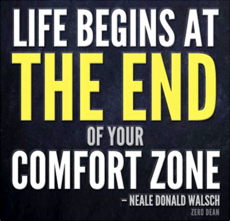 life begins when you get out of your comfort zone get fit and healthy with erin