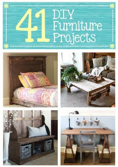 diy projects furniture 41 diy furniture projects diy cozy home